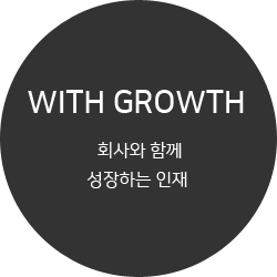 WITH GROWTH